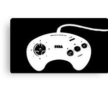 Mega Drive Controller Canvas Print