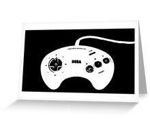 Mega Drive Controller Greeting Card