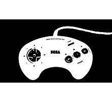 Mega Drive Controller Photographic Print