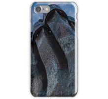 Whimsical Chimneys - Antoni Gaudi Trencadis Mosaics Echo the Colors of the Sky iPhone Case/Skin