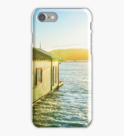 Boathouse Sunrise iPhone Case/Skin