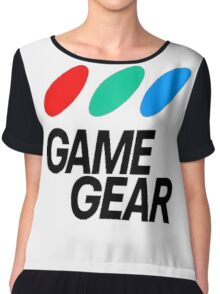 Game Gear Logo Chiffon Top