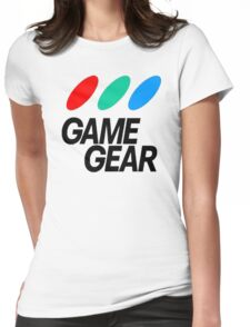 Game Gear Logo Womens Fitted T-Shirt