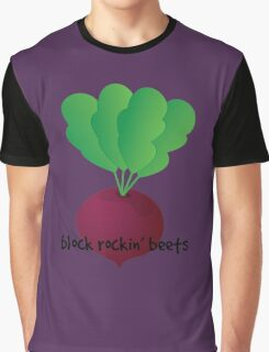 Block Rockin' Beets Graphic T-Shirt