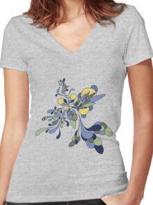 Splash of Fresh Women's Fitted V-Neck T-Shirt