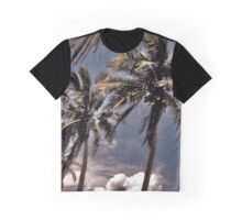 Palms in the Wind Graphic T-Shirt