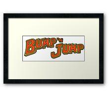 Bump 'n Jump Logo Framed Print