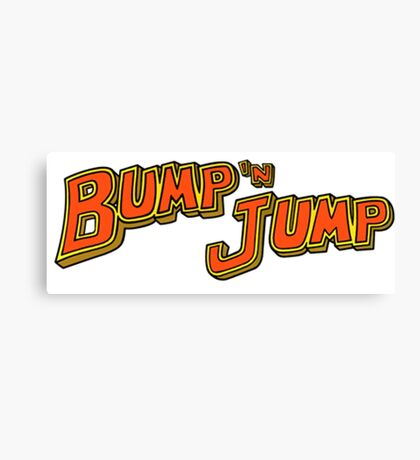 Bump 'n Jump Logo Canvas Print