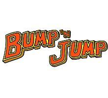 Bump 'n Jump Logo Photographic Print