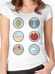 THE FANTASTIC EARTH Women's Fitted Scoop T-Shirt
