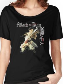 levi in full attack mode Women's Relaxed Fit T-Shirt