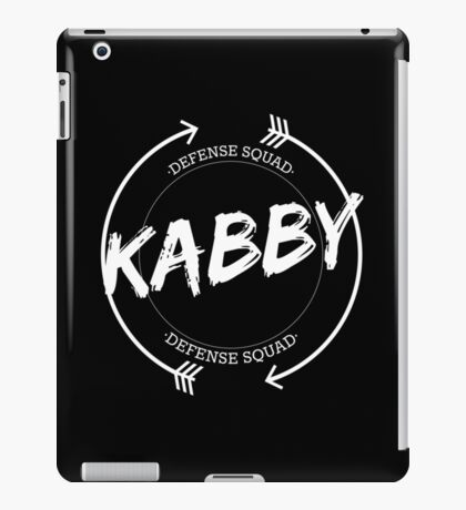 KABBY DEFENSE SQUAD iPad Case/Skin