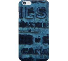 The Old Plaque iPhone Case/Skin