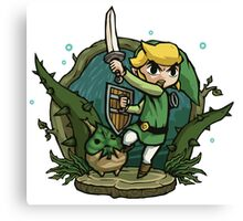Fearless Link Canvas Print