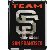 Team SF 49ers iPad Case/Skin