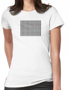 Grey & Red Tiling Tessellation T-Shirt
