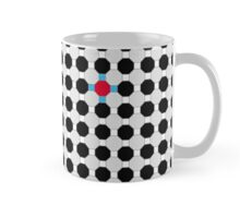 Grey & Red Tiling Tessellation Mug