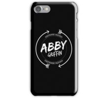 ABBY GRIFFIN DEFENSE SQUAD iPhone Case/Skin