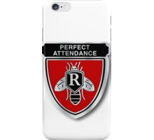 Rushmore Perfect Attendance Pin iPhone Case/Skin