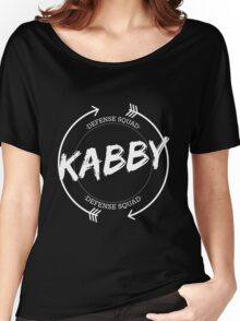 KABBY DEFENSE SQUAD Women's Relaxed Fit T-Shirt