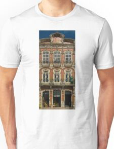 Art Nouveau facade Portugal Europe Unisex T-Shirt