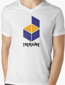 Treasure Logo Mens V-Neck T-Shirt