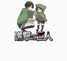cute levi and eren attack on titan design  Unisex T-Shirt