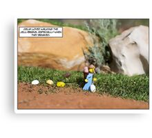 Walking the Jellybeans Canvas Print