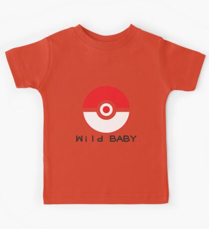 pokemon wild baby Kids Tee
