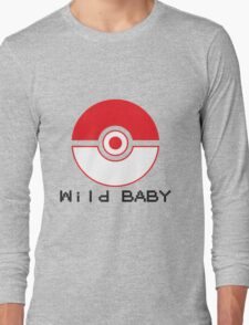 pokemon wild baby Long Sleeve T-Shirt