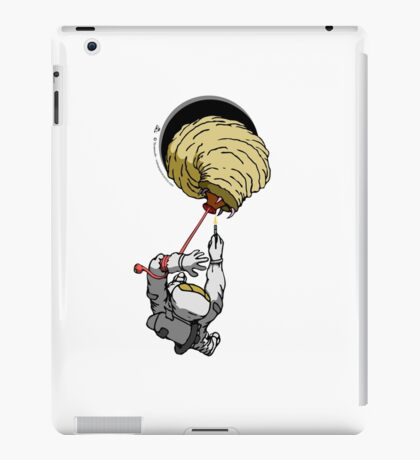Anomaly & Astronaut - Space Maggot (OUTside) iPad Case/Skin