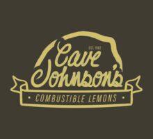 cave johnson's combustible lemons by Shabnam Salek