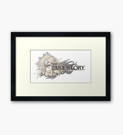 The Last Story Logo Framed Print