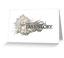 The Last Story Logo Greeting Card