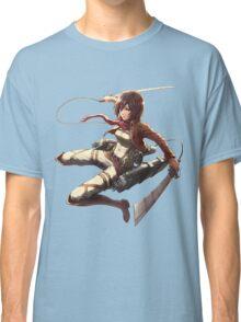 mikasa military design attack on titan Classic T-Shirt