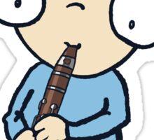 Clarinet Boy Sticker