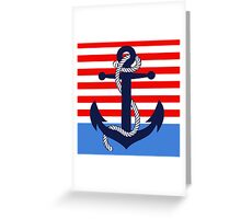 Ahoy! (ocean dipped) Greeting Card