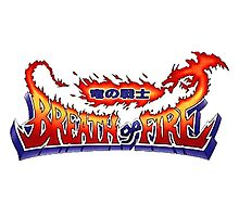 Breath of Fire Logo Photographic Print