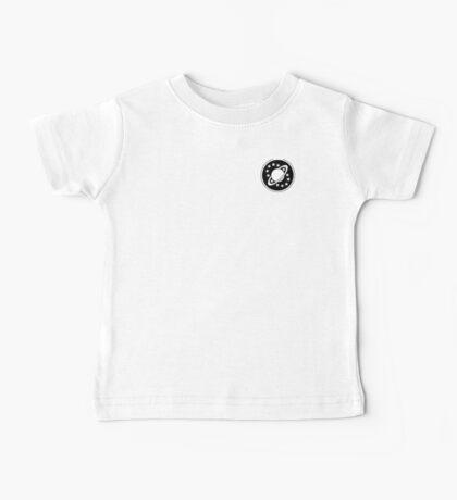 Galaxy Quest Emblem Black Baby Tee