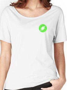 Galaxy Quest Emblem Green Women's Relaxed Fit T-Shirt