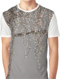Winter Willow Tree - Dark Graphic T-Shirt