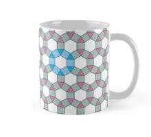 Tiling Tessellation In Green, Blue & Pink Mug