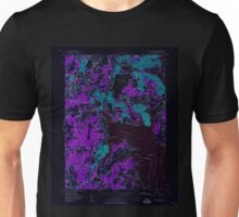 USGS TOPO Map Rhode Island RI East Greenwich 353280 1957 24000 Inverted Unisex T-Shirt