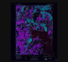 USGS TOPO Map Rhode Island RI East Greenwich 353280 1957 24000 Inverted T-Shirt