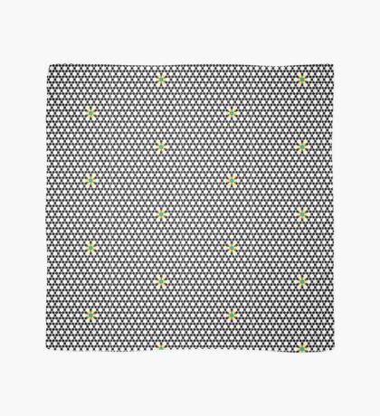 Black & White Tessellation Pattern Scarf