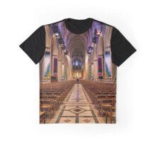 Washington National Cathedral Interior Graphic T-Shirt