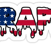 Skrappa American Flag Sticker