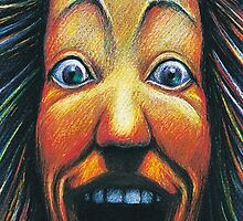 Crazy Face by Peter Letts