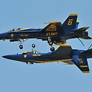 U.S.  Navy Blue Angels by dc witmer