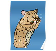 Hungry, Hungry Hamster Poster